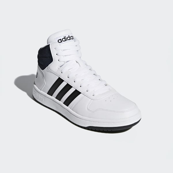 57a03bf8e7 adidas Hoops 2.0 Mid Shoes - White