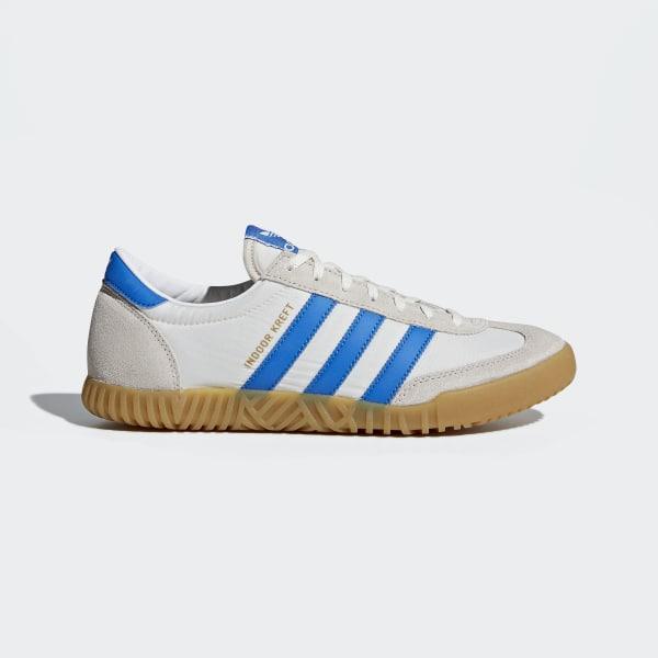 adidas Indoor Kreft SPZL Shoes - White | adidas US | Tuggl