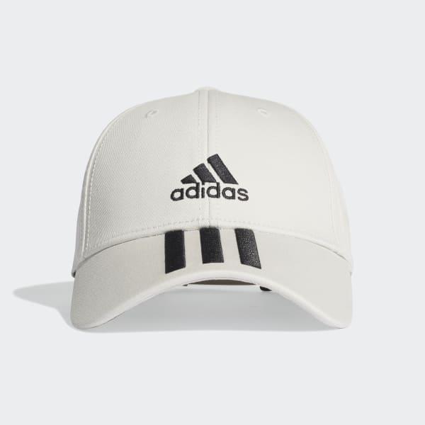 adidas Mens 3 Stripes Cotton Sports Casual Hat Baseball Cap Black