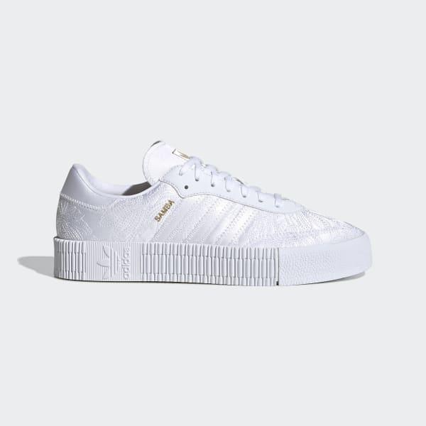 Chaussure SAMBAROSE - Blanc adidas | adidas France