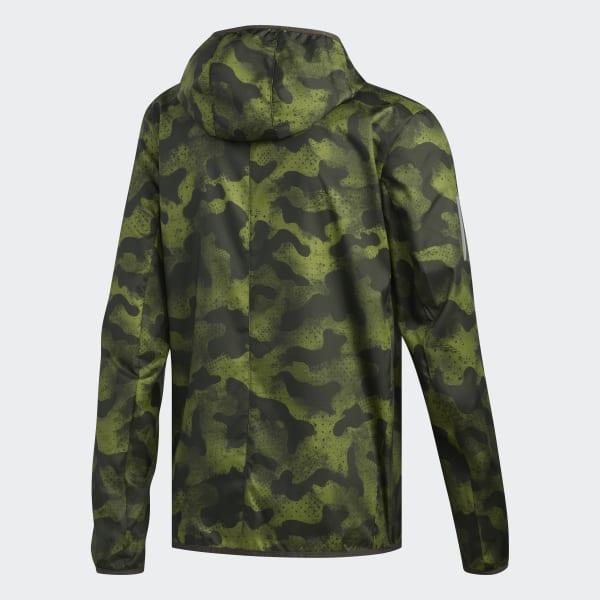 adidas Own the Run Camouflage Jakke Grå   adidas Norway