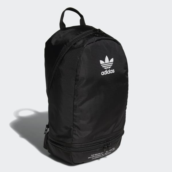 adidas Packable Two-Way Backpack - Black  a07701d0239ff