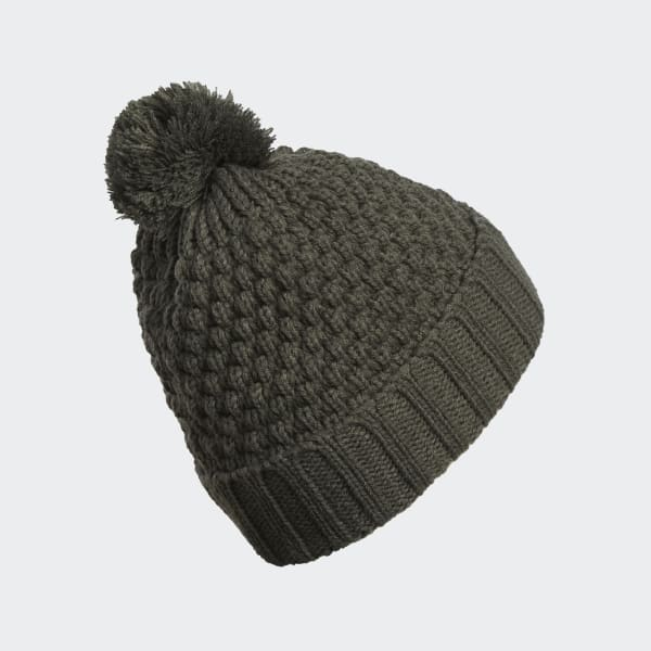 Fleece Lined Pompom Beanie
