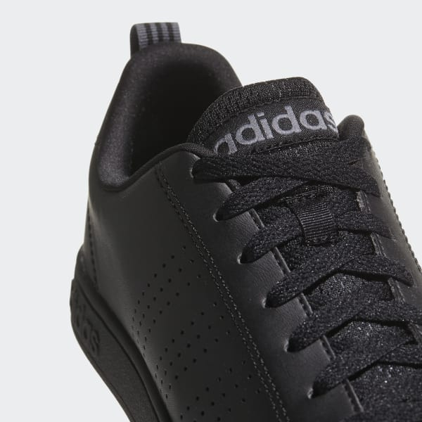 Adidas Advantage Clean VS (BLACK ON BLACK)