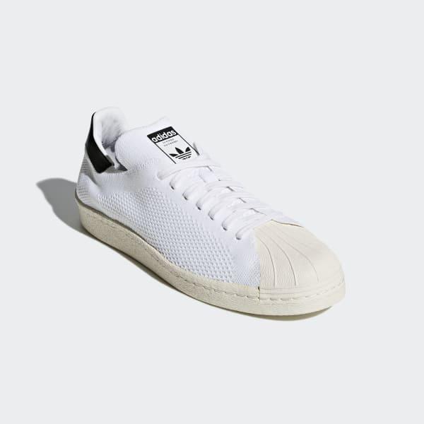 Adidas Superstar 80s Primeknit Herre | HvidBlackGuld