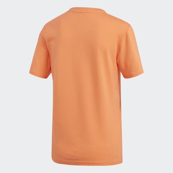 adidas Tee Shirt Femme Trefoil FM3295 Orange