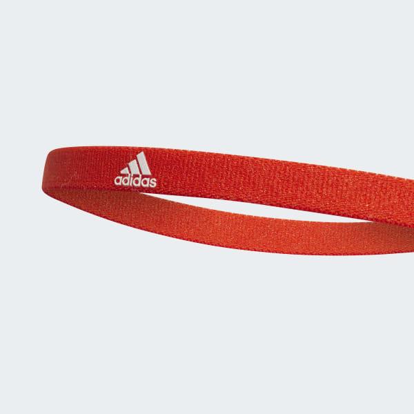 34c5e0f6bd6201 adidas Haarband 3er-Pack - orange | adidas Austria