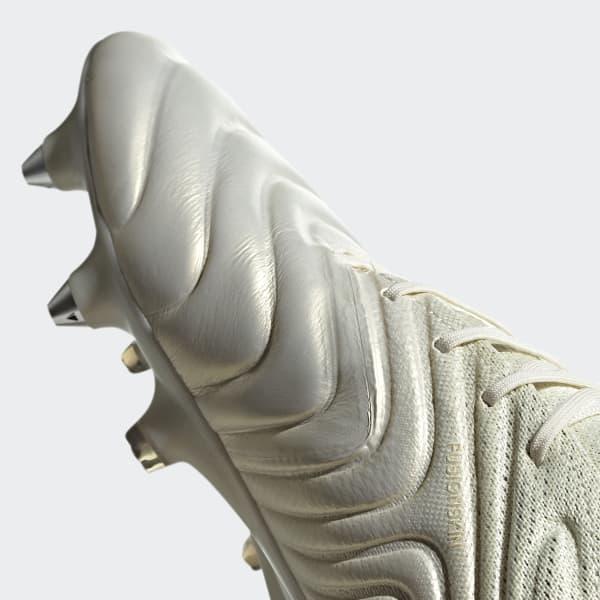 Bota de fútbol Copa 19.1 césped natural húmedo - Blanco adidas ... c98366ff5c870