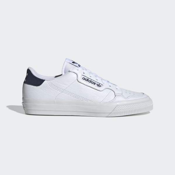 adidas Continental Vulc Shoes - White | adidas US