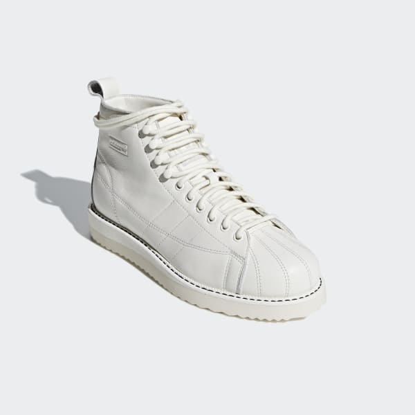 4ce5f09dd3b43 adidas Superstar Boots - White