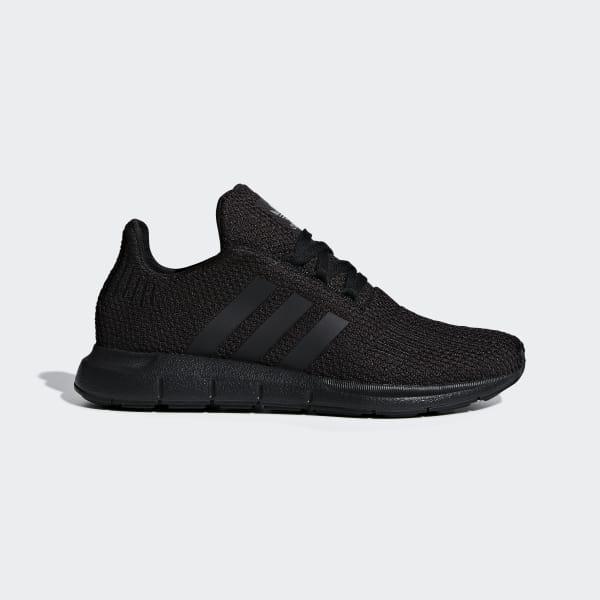 Noir Adidas Originals Swift Run Primeknit Baskets Noir