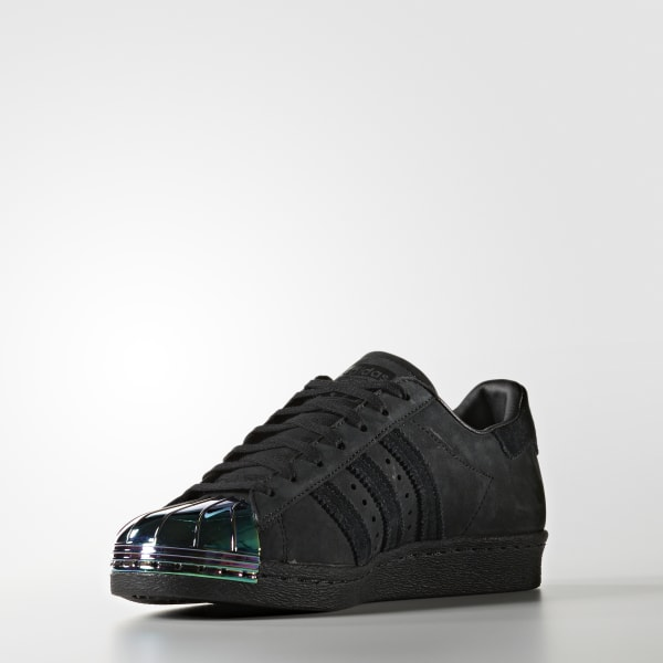 06f277149a207 adidas Women s Superstar 80s Metal Toe Shoes - Black