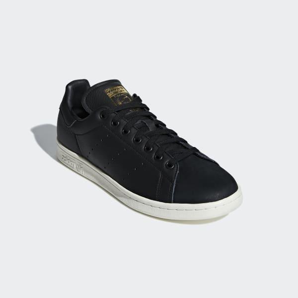 hot sale online 00b92 c017a adidas Stan Smith Premium Shoes - Black | adidas Malaysia