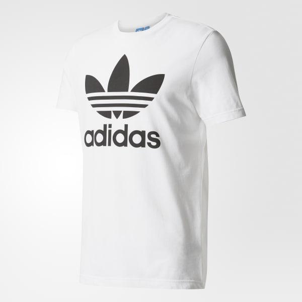 5f40cc2197 adidas Trefoil Tee - White | adidas US