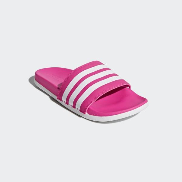 6f6b33eb972b adidas Šľapky Adilette Cloudfoam Plus Stripes - ružová