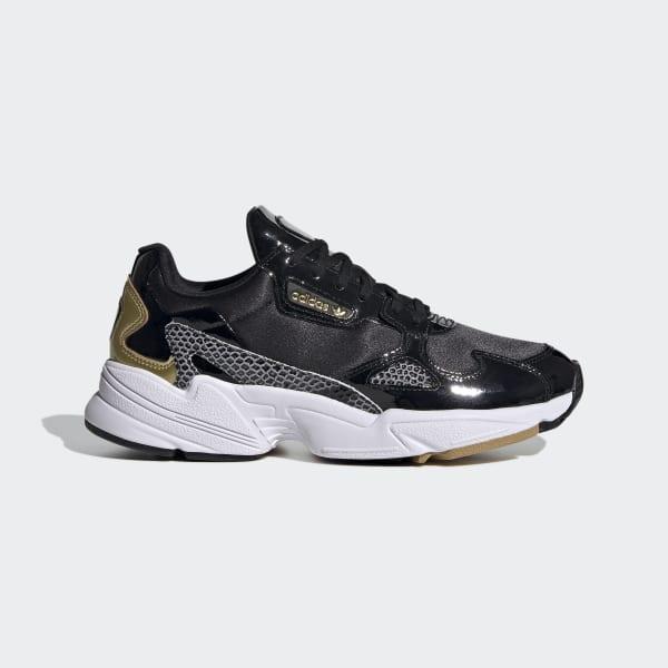 adidas Falcon Shoes - Black   adidas UK