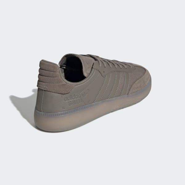 adidas originals SAMBA RM simple brownsimple brownGREY