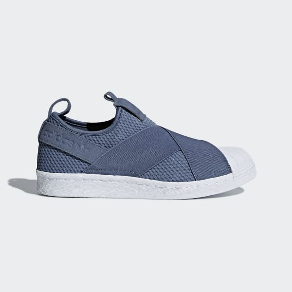 adidas Superstar Slip-on Shoes - Grey | adidas US | Tuggl