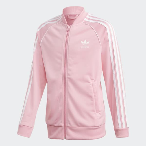 7d2605861e5c adidas SST Track Jacket - Pink