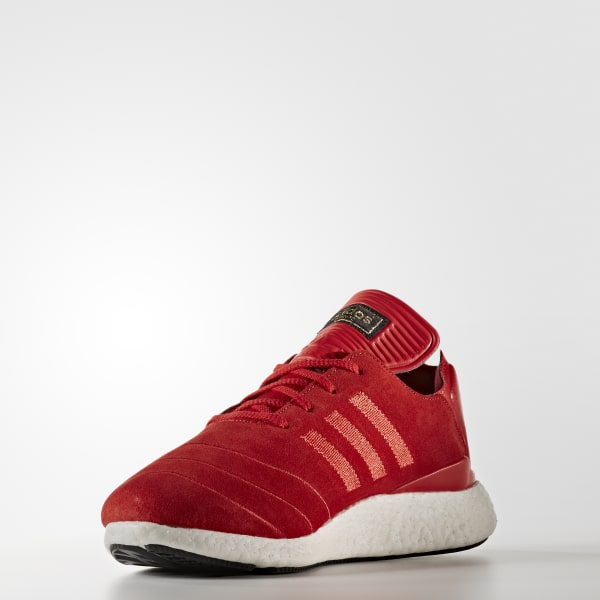 262056c8f92ec9 adidas Busenitz Pure Boost Shoes - Red