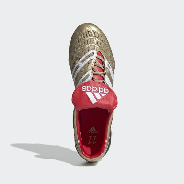 Scarpe da calcio Predator Accelerator Firm Ground Zinédine Zidane - Oro  adidas  c81c9b84a18
