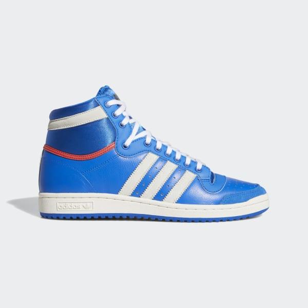 adidas Top Ten Hi Shoes - Blue | adidas US
