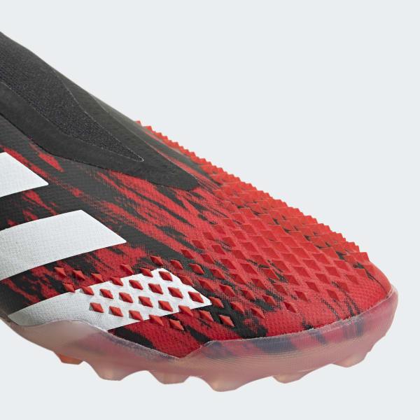 adidas Predator 20.3 Laceless TF Mutator Red White Sort Barn.