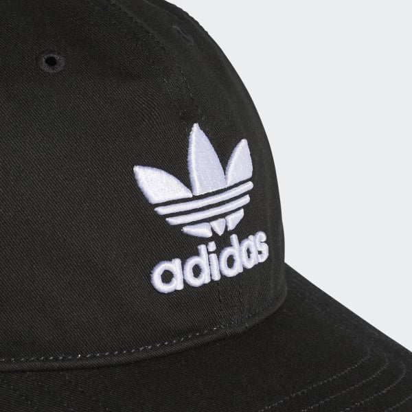 adidas Trefoil Classic Cap - Black  72c754ab0d3