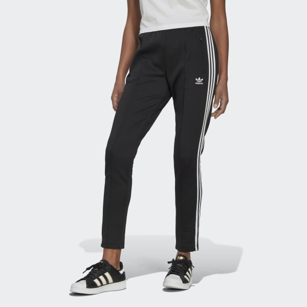 Medalla Barricada amanecer  adidas Women's Primeblue SST Tracksuit Bottoms in Black and White | adidas  UK