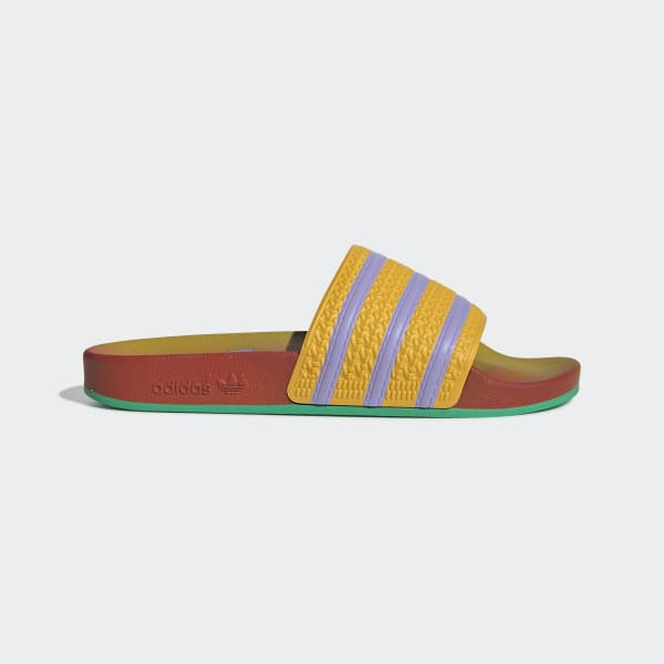 Adidas Dam Adilette Comfort Orange Sandaler På Rea