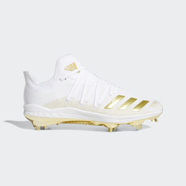 gold boys cleats