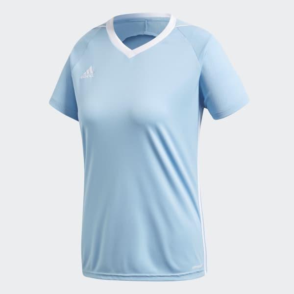 adidas Jersey Tiro 17 para Fútbol Mujer Adidas - Azul  57c6e2f256295