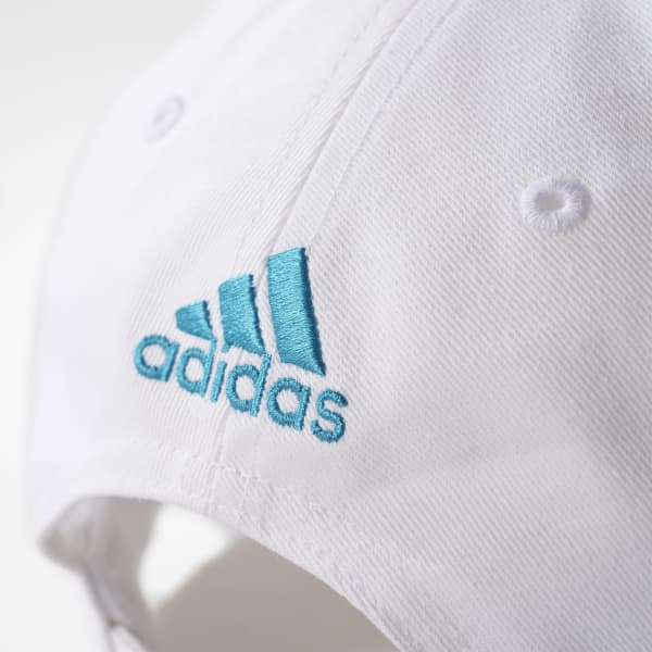 434b5961 Gorra Real Madrid 3 Tiras - Blanco adidas | adidas Peru