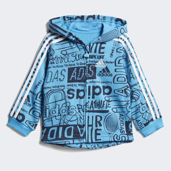 Conjunto de Chaqueta y Pantalón Graphic Fleece
