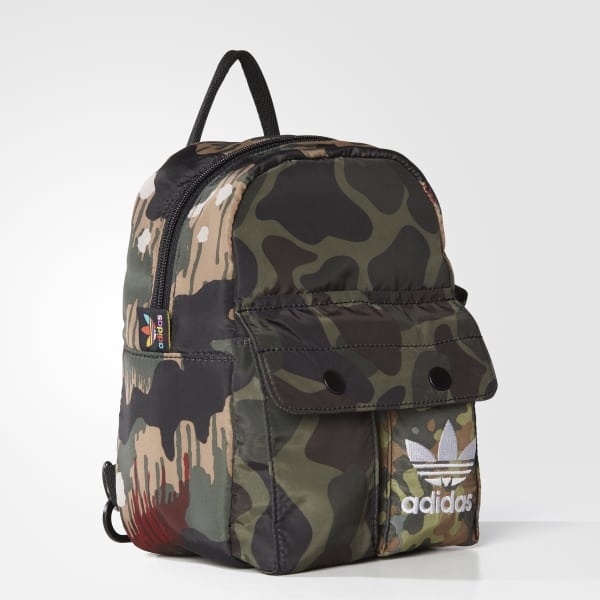 adidas Women s Pharrell Williams Hu Hiking Mini Backpack - Multicolor  bb0635fe2aceb
