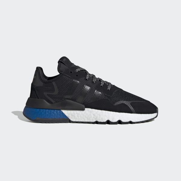 lazo Pef lección  adidas Nite Jogger Shoes - Black | adidas US