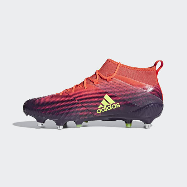 super popular a12c0 b324d Bota de rugby Predator Flare césped natural húmedo - Naranja adidas   adidas  España
