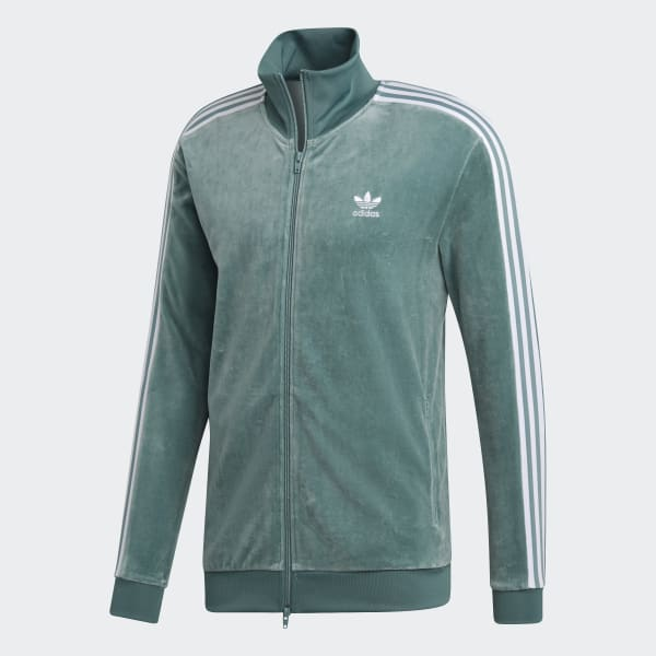a0a01a2996e adidas Cozy Track Jacket - Green | adidas UK
