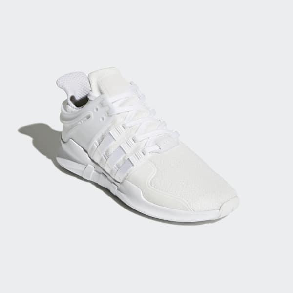 adidas Originals Damskie EQT Support ADV Buty Sportowe Załamany Biały