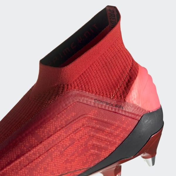 4a46b119f1 adidas Botas de Futebol Predator 19+ – Piso Mole - Vermelho