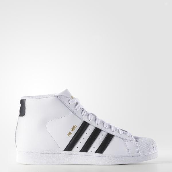 adidas Men's Pro Model Shoes - White