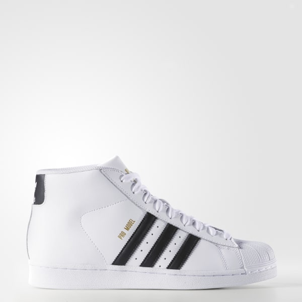 online store c7467 39f7f adidas Pro Model Shoes - White | adidas US