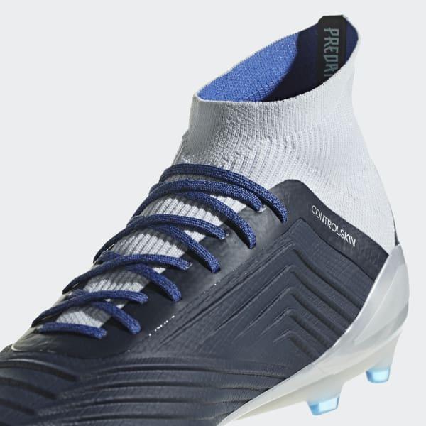 89856675c0c1 adidas Predator 18.1 Firm Ground Boots - Blue