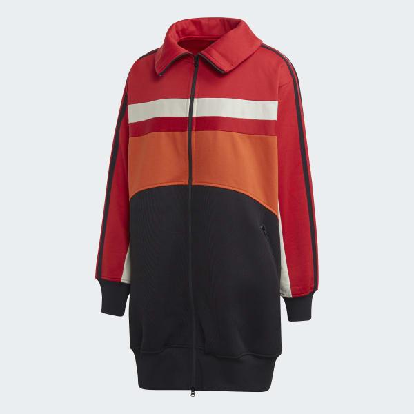 Adidas Jacke weinrot oversized