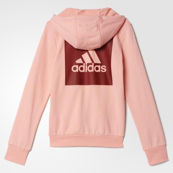 0a86a186cc Buzo deportivo para niñas - Naranja adidas | adidas Peru