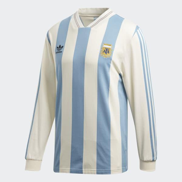 Indomable eficaz Controlar  adidas Camiseta de Fútbol Argentina 1987 - Blanco | adidas Argentina