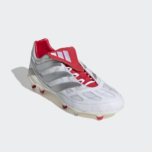 official photos 006c6 8cc33 Bota de fútbol Predator Precision David Beckham césped natural seco -  Blanco adidas   adidas España