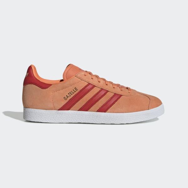 adidas gazelle rouge orange