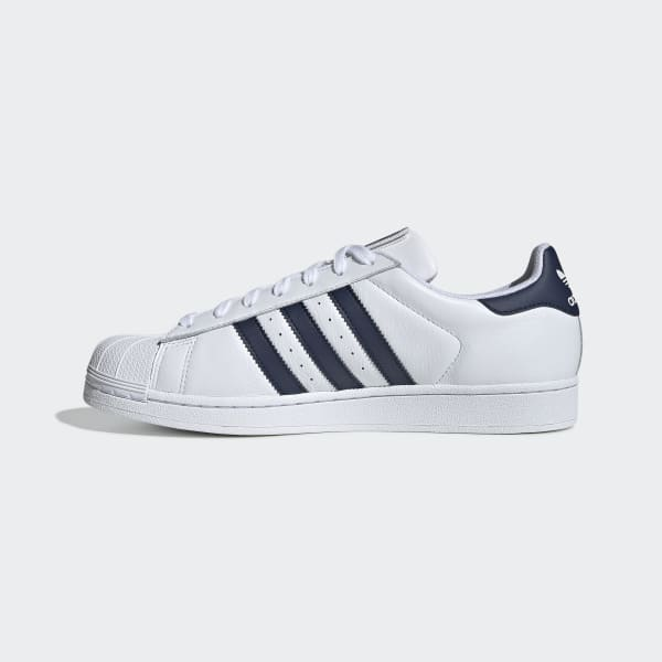 Men's Superstar Cloud White and Navy