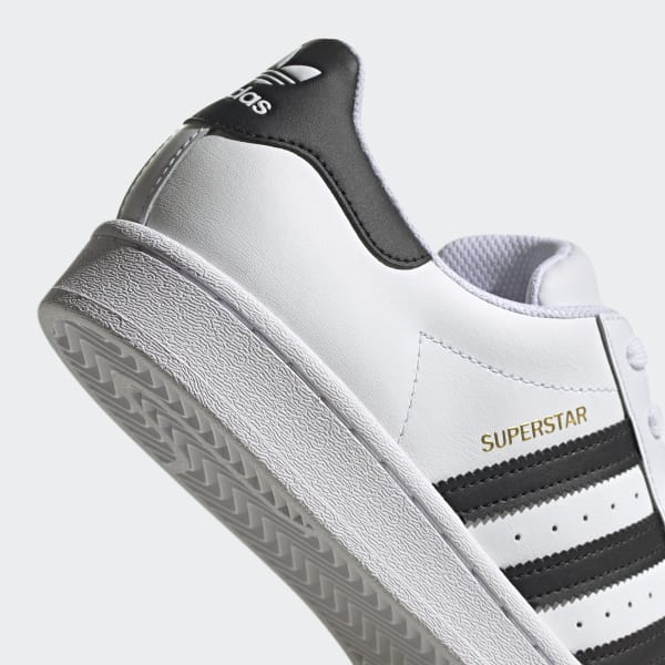 Women's Superstar Cloud White and Core Black Shoes   adidas US
